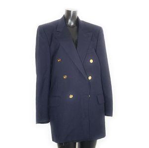 Burberrys Mens Vintage Wool Suit Jacket Blazer